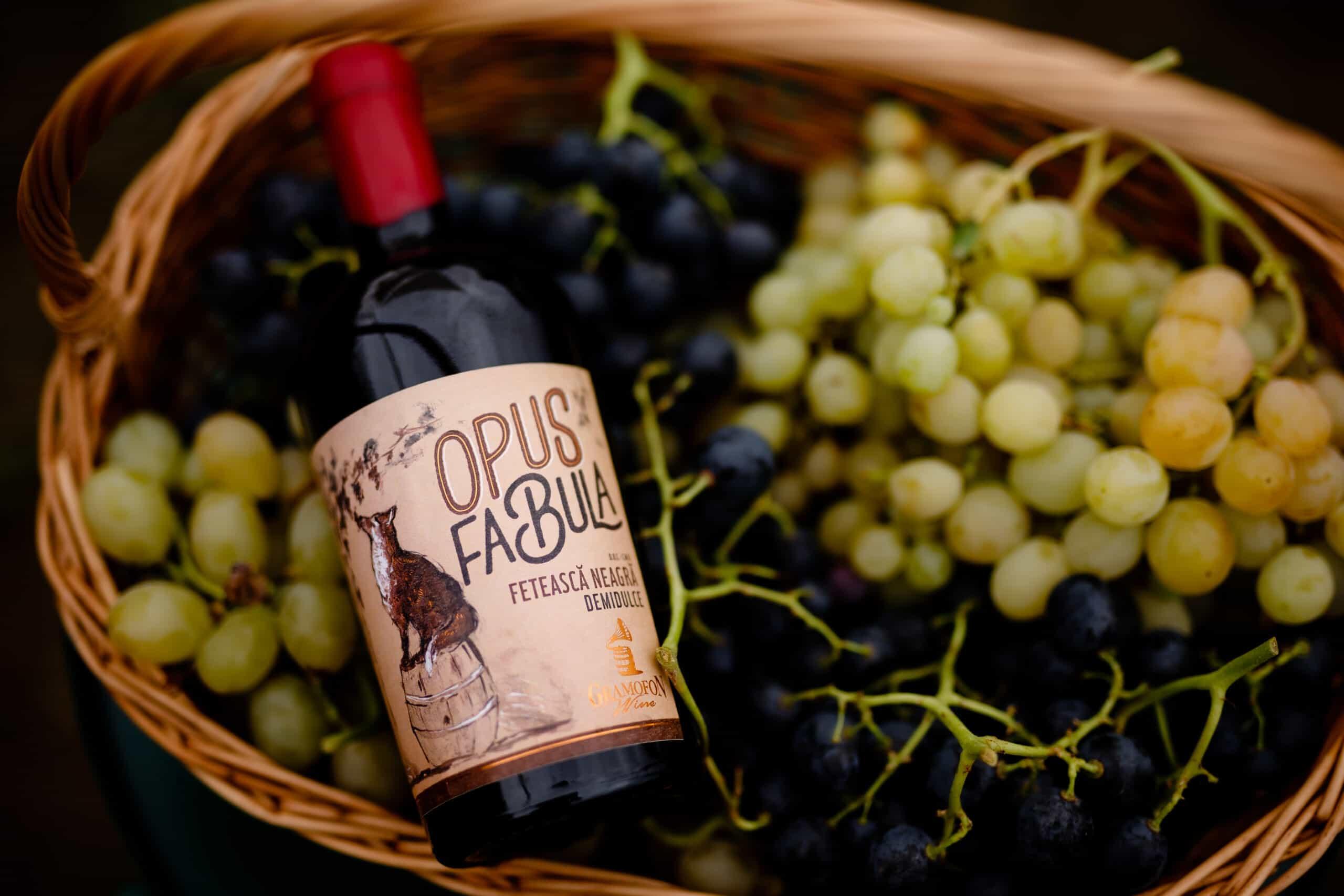 Vin Opus Fabula Feteasca Neagra